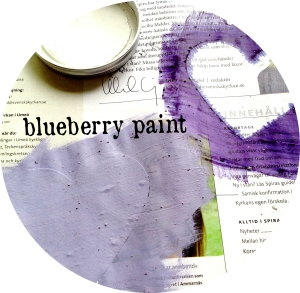 blueberry paint